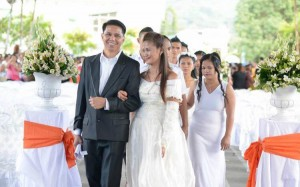 A Celebration of Love Valentines Day Subic Mass Wedding 222 Couples officiated by Mayor Jay Khonghun (1)