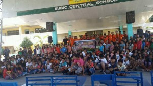 After the successed Nationwide Simultaneous Earthquake Drill at Subic Central School  (1)