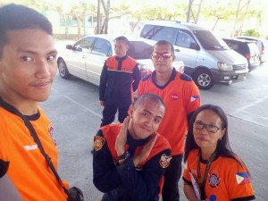 After the successed Nationwide Simultaneous Earthquake Drill at Subic Central School  (2)
