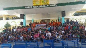 After the successed Nationwide Simultaneous Earthquake Drill at Subic Central School  (4)