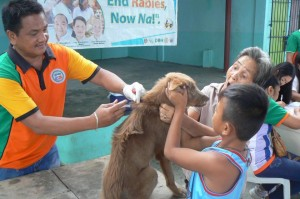 Anti Rabies Vaccination for Dogs and Cats with Municipal Agriculture and Provincial Veterinarians in Barangay Baraca Camachile Subic,Mayor Jay Khonghun (1)