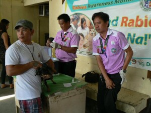 Anti Rabies Vaccination for Dogs and Cats with Municipal Agriculture and Provincial Veterinarians in Barangay Sto Thomas Subic,Mayor Jay Khonghun (6)