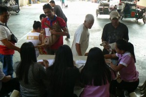 Anti Rabies Vaccination for Dogs and Cats with Municipal Agriculture and Provincial Veterinarians in Barangay Sto Thomas Subic,Mayor Jay Khonghun (9)