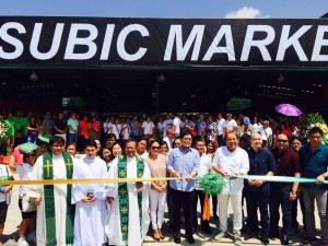 Blessing and Inauguration New Subic Market (1)
