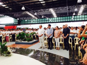 Blessing and Inauguration New Subic Market (2)