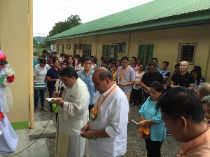 Blessing and Turn Over 2 storey,10 Classroom Building Subic National High School