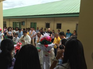 Blessing and Turn Over 2 storey,10 Classroom Building Subic National High School (10)