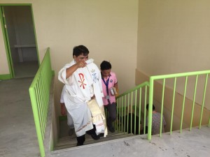 Blessing and Turn Over 2 storey,10 Classroom Building Subic National High School (11)