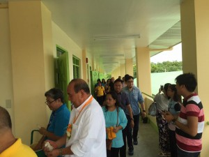 Blessing and Turn Over 2 storey,10 Classroom Building Subic National High School (12)