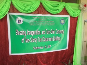 Blessing and Turn Over 2 storey,10 Classroom Building Subic National High School (14)