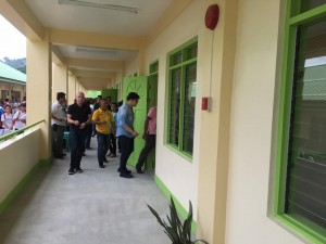 Blessing and Turn Over 2 storey,10 Classroom Building Subic National High School (18)