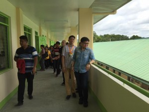 Blessing and Turn Over 2 storey,10 Classroom Building Subic National High School (19)
