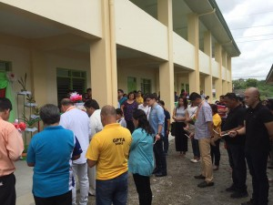 Blessing and Turn Over 2 storey,10 Classroom Building Subic National High School (2)