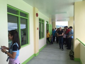 Blessing and Turn Over 2 storey,10 Classroom Building Subic National High School (21)