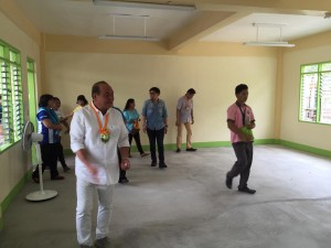 Blessing and Turn Over 2 storey,10 Classroom Building Subic National High School (3)