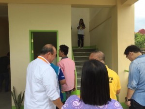 Blessing and Turn Over 2 storey,10 Classroom Building Subic National High School (4)