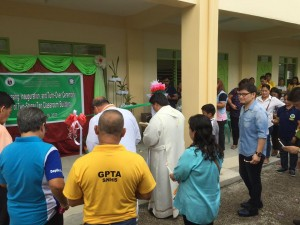 Blessing and Turn Over 2 storey,10 Classroom Building Subic National High School (5)