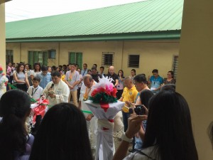 Blessing and Turn Over 2 storey,10 Classroom Building Subic National High School (6)