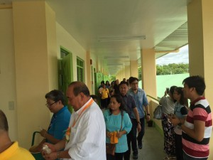 Blessing and Turn Over 2 storey,10 Classroom Building Subic National High School (7)