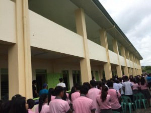 Blessing and Turn Over 2 storey,10 Classroom Building Subic National High School (8)