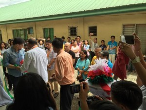 Blessing and Turn Over 2 storey,10 Classroom Building Subic National High School (9)