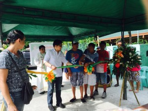 Blessing and ribbon Cutting Macedo Bridge in Brgy Wawandue Subic (1)