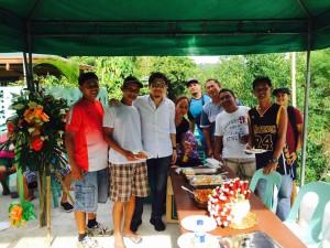 Blessing and ribbon Cutting Macedo Bridge in Brgy Wawandue Subic (10)