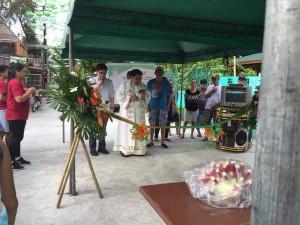 Blessing and ribbon Cutting Macedo Bridge in Brgy Wawandue Subic (12)