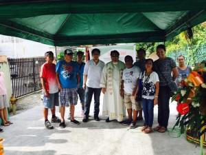 Blessing and ribbon Cutting Macedo Bridge in Brgy Wawandue Subic (2)