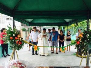 Blessing and ribbon Cutting Macedo Bridge in Brgy Wawandue Subic (5)