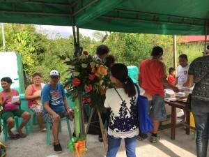 Blessing and ribbon Cutting Macedo Bridge in Brgy Wawandue Subic (7)