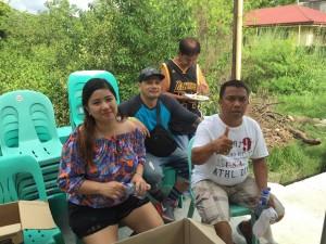 Blessing and ribbon Cutting Macedo Bridge in Brgy Wawandue Subic (8)