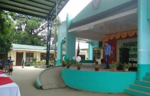 Blessing and turn Over of Covered Court and 3 Classroom Building Matain Elementary School (13)