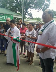 Blessing and turn Over of Covered Court and 3 Classroom Building Matain Elementary School (6)
