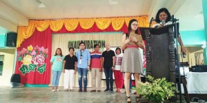 Blessing and turn Over of Covered Court and 3 Classroom Building Matain Elementary School (7)