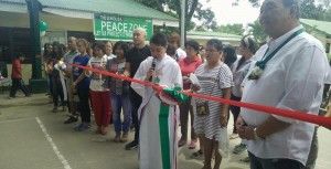 Blessing and turn Over of Covered Court and 3 Classroom Building Matain Elementary School (8)