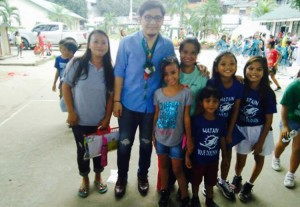 Blessing and turn Over of Covered Court and 3 Classroom Building Matain Elementary School (9)