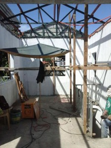 ON GOING CONSTRUCTION SENIOR CITIZEN BUILDING OF BARANGAY ILWAS SUBIC (1)