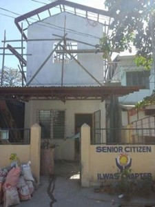 ON GOING CONSTRUCTION SENIOR CITIZEN BUILDING OF BARANGAY ILWAS SUBIC (2)