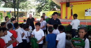 Distribution of Bags and School Kits in JFK SPED center and Pamatawan Elementary Schoo (2)