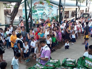 Distribution of Bags and School Kits in Matain Elementary School  (4)
