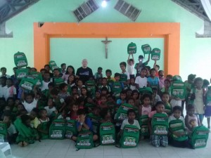 Distribution of Bags and School Kits in Sitio Gala Aningway Elementary School