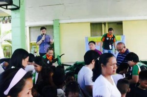 Distribution of Bags and School kits to 2 thousand plus students of Subic Central School (2)