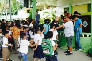 Distribution of Bags and School kits to 2 thousand plus students of Subic Central School (4)