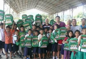 Distribution of Bags and School kits to 2 thousand plus students of Subic Central School (8)