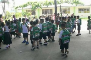 Distribution of Bags and School kits to 2 thousand plus students of Subic Central School (9)