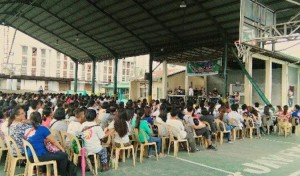 Distribution of CHED Scholarship Program (October 15) (1)