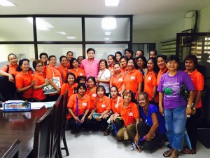 Distribution of Cash Gift Barangay Nutrition Scholars(BNS) and Municipal Health Workers of Subic (2)