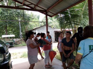 Distribution of Doxycycline in Barangay Manganvaca,Ilwas,Baraca Camachile,San Isidro and Santo Thomas Subic (4)