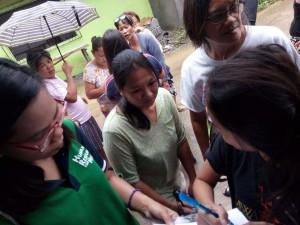 Distribution of Doxycycline in Barangay Manganvaca,Ilwas,Baraca Camachile,San Isidro and Santo Thomas Subic (7)